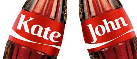 """The """"Share a Coke"""" project highlights new possibilities for promotional campaigns using digital print and has achieved record-breaking productivity"""